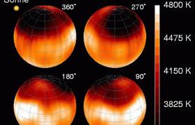 Солнечные пятна с расстояния в тысячу световых лет