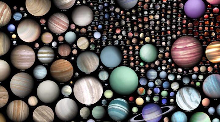 Пятьсот экзопланет на одном большом постере